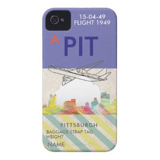 ピッツバーグペンシルバニアのスカイラインWB1- iPhone 4 カバー