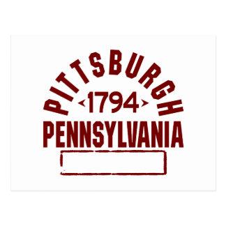 ピッツバーグ株式会社 ポストカード