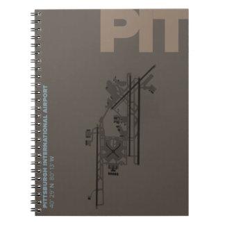ピッツバーグ空港(ピット)図表 ノートブック