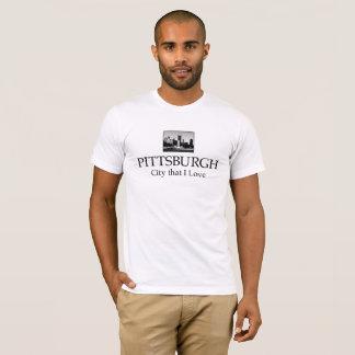 ピッツバーグ都市Tシャツ Tシャツ