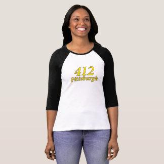 ピッツバーグ412のTシャツ Tシャツ