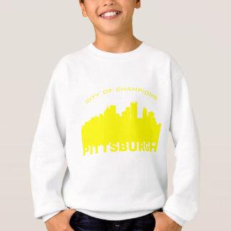 ピッツバーグ: チャンピオンの黄色の都市 スウェットシャツ