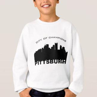 ピッツバーグ: チャンピオンの黒の都市 スウェットシャツ