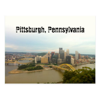 ピッツバーグ、ペンシルバニア ポストカード
