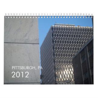 ピッツバーグ、PA 2012年 カレンダー
