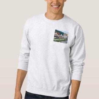 ピッツバーグPA -場所の正方形によって行く列車 スウェットシャツ