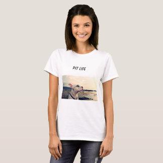 ピットの生命女性のTシャツ Tシャツ