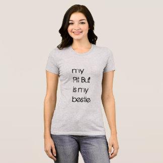 ピットブルのワイシャツは私のピット・ブル私のBestieです Tシャツ