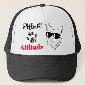 ピットブルの態度の帽子 キャップ