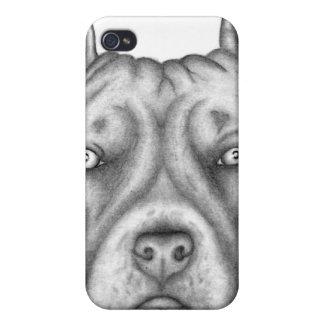ピットブルの電話箱 iPhone 4 CASE
