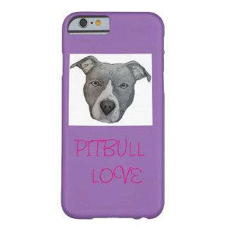 ピットブル愛電話箱 BARELY THERE iPhone 6 ケース