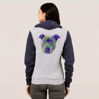 ピットブル犬のスエットシャツ パーカ