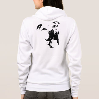 ピットブル犬のワイシャツ パーカ