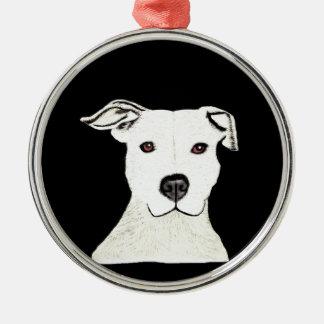 ピットブル犬の品種 メタルオーナメント