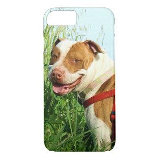 ピットブル犬 iPhone 8/7ケース