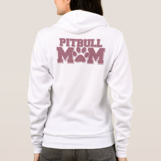 ピット・ブルのお母さん パーカ