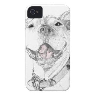 ピット・ブルのスマイル Case-Mate iPhone 4 ケース