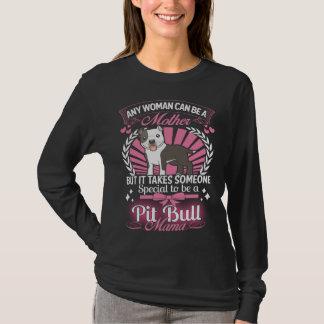ピット・ブルのママ Tシャツ
