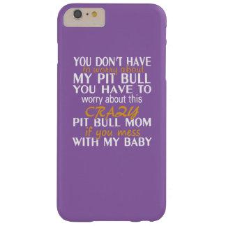 ピット・ブルの熱狂するなお母さん BARELY THERE iPhone 6 PLUS ケース