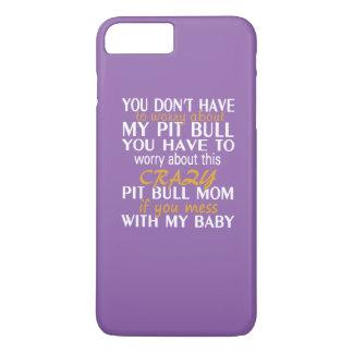 ピット・ブルの熱狂するなお母さん iPhone 8 PLUS/7 PLUSケース