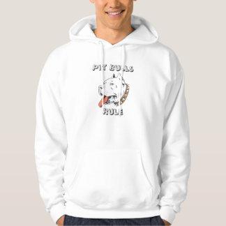ピット・ブルの規則メンズフード付きスウェットシャツのスエットシャツ パーカ