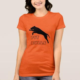 ピット・ブルのTシャツ-ピットを促進して下さい Tシャツ