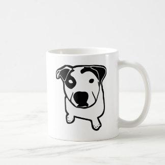 ピット・ブルのT骨のグラフィック コーヒーマグカップ