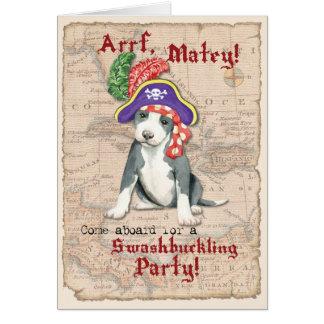 ピット・ブルテリアの海賊 カード