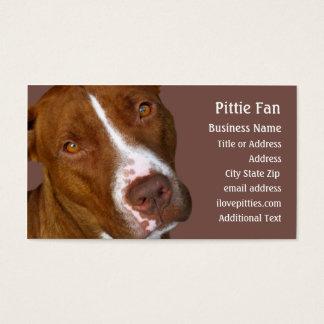 ピット・ブルテリア#2 -写真の名刺 名刺