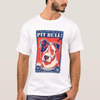 ピット・ブル従って下さい! Tシャツ