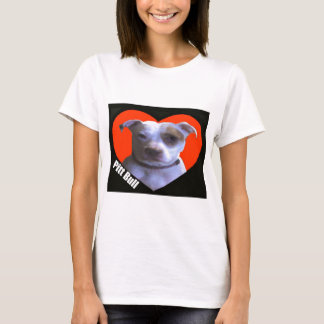 ピット・ブル愛 Tシャツ