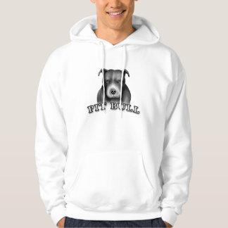 ピット・ブル犬は犬の芸術のTシャツをカスタム設計します パーカ