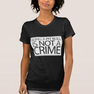 ピット・ブル罪ではないですであることは Tシャツ