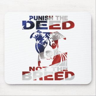 ピット・ブル行為をない品種罰します マウスパッド