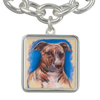 ピット・ブルBrindle犬 チャームブレス