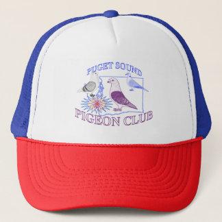 ピュージェットサウンドハトクラブトラック運転手のスタイルの帽子 キャップ