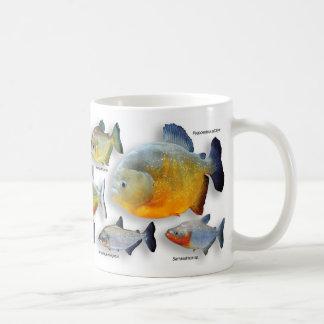 ピラニアのマグカップ,N0.3 コーヒーマグカップ