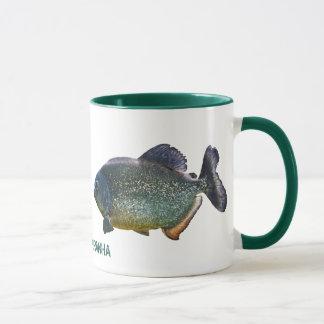 ピラニアのマグ マグカップ