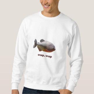 ピラニアの南アフリカの魚 スウェットシャツ