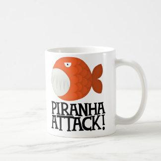 ピラニアの攻撃! コーヒーマグカップ