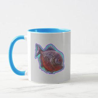 ピラニアの魚 マグカップ