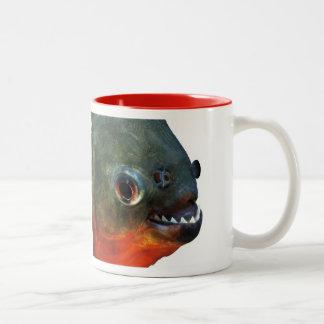 ピラニア ツートーンマグカップ