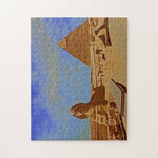 ピラミッドのスフィンクスエジプト ジグソーパズル
