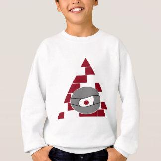 ピラミッドの目 スウェットシャツ