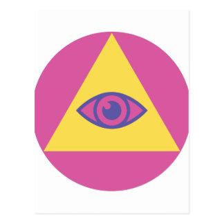ピラミッドの目 ポストカード