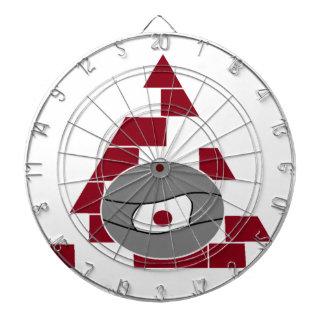 ピラミッドの腕時計 ダーツボード