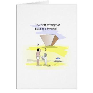 ピラミッドを造ること カード