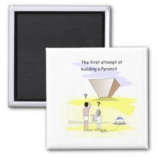 ピラミッドを造ること マグネット
