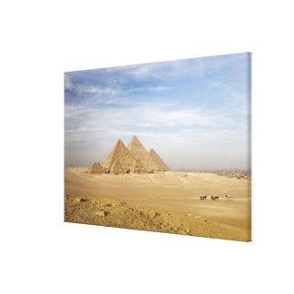 ピラミッドカイロ、エジプト キャンバスプリント