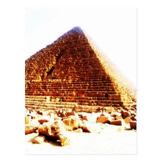 ピラミッド、カイロ ポストカード